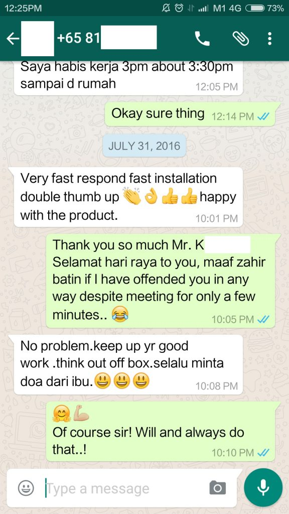 And we thank you too, Mr. K for engaging and trusting us in fixing your desired rack for you!